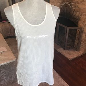 NWT Ann Taylor Sequin Blouse Size 2